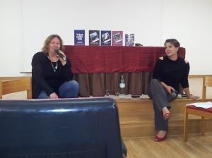 Annegret Hrinold und Catrin George