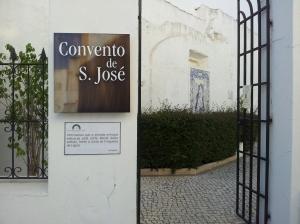 Der Eingang des Convento