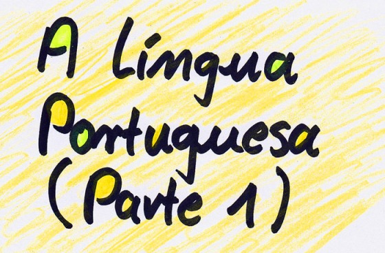 Lingua Portuguesa Parte 1