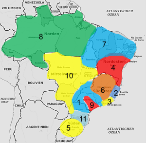 Linguistic Map Brazil