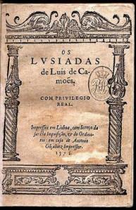 """Erstausgabe der """"Luisadas"""" von Luis de Camões 1572 - cc Wikipedia"""