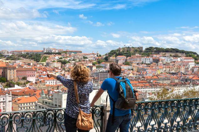 Besucher Portugals