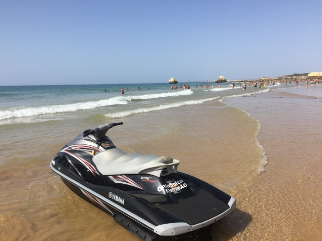 Strand-Szene