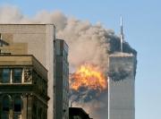 Das World Trade Center nach Einschlag von UA 175 | Foto Creative Commons