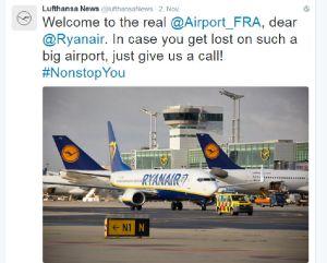 Tweet an Ryanair