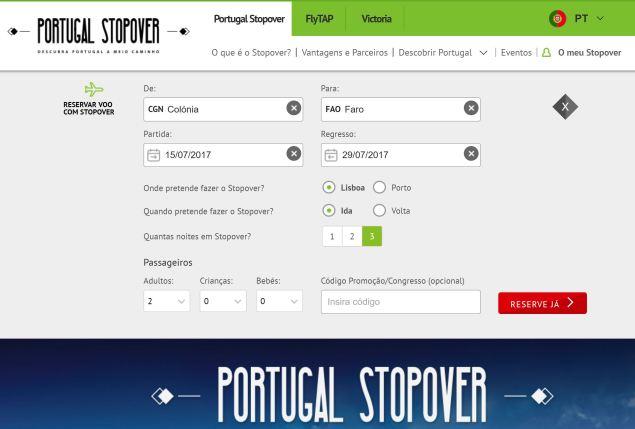 TAP Stopover